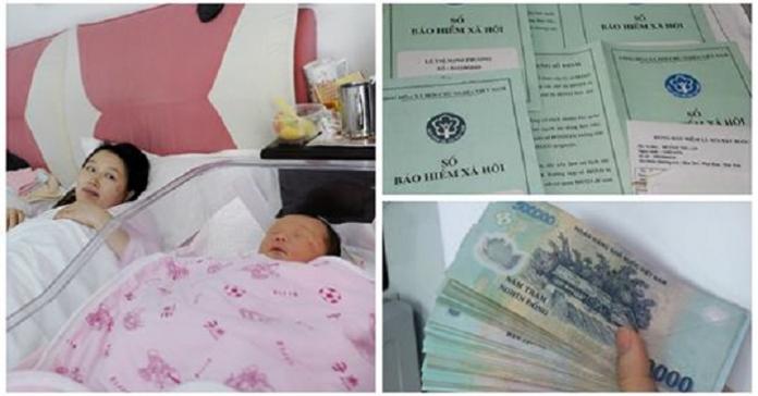 Có phải đóng thuế TNCN cho mức tiền hưởng chế độ thai sản không?